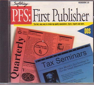 PFS: FIRST PUBLISHER (Publisher Program compare prices)