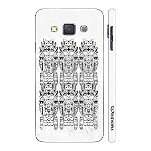 Enthopia Designer Hardshell Case The White Magic Back Cover for Samsung Galaxy A3 2015