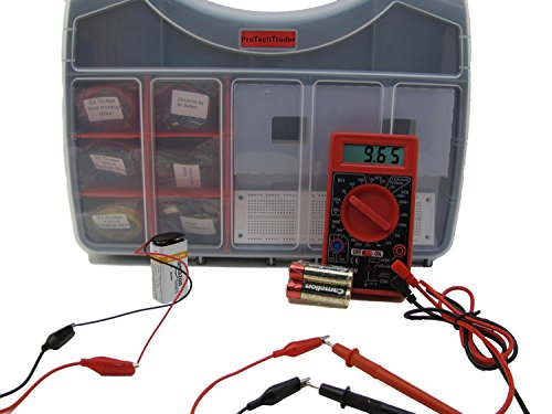 protechtrader-make-electronics-component-pack-1-deluxe-new-2nd-edition-kit-follows-the-latest-make-e