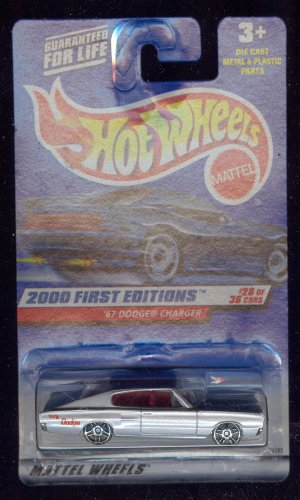 Hot Wheels 2000-088 '67 Dodge Charger 1967 28 of 36 First Edition 1:64 Scale
