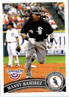 2011 Topps Opening Day Baseball Card #63 Manny Ramirez - Chicago White Sox - MLB Trading Card