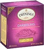 Twinings Darjeeling Tea, Tea Bags, 50 Count Boxes (Pack of 6)