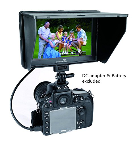 CameraPlus-CP-DC-70-Clip-on-Color-TFT-LCD-Monitor-HDMI-AV-Input-for-Camera
