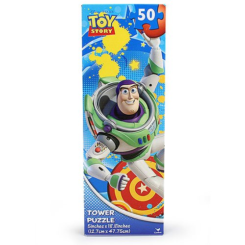 Disney Toys Puzzle Tower Jigsaw Puzzle 50 Pieces - One Varied Design