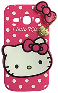 MACC Designer Soft Back Cartoon Cover Case Silicon 3D For Samsung G350 Galaxy Star Advance - HKWITHPENDANT - DPINK