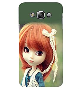 Printdhaba Cute Doll D-1018 Back Case Cover For Samsung Galaxy A8