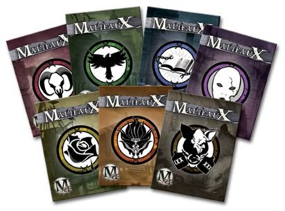 Wyrd Miniatures Malifaux Arsenal Deck Neverborn Wave Model Kit (2 Pack)