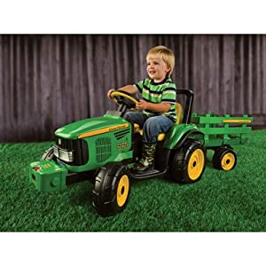 peg perego john deere ground force tractor with trailer manual