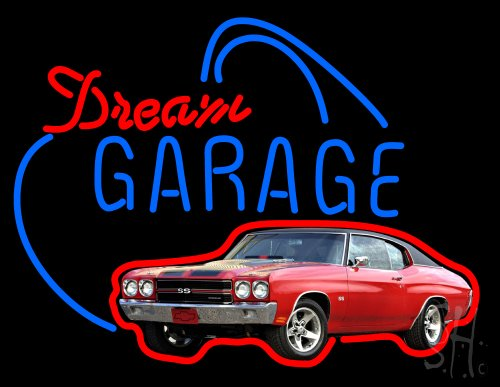 Dream Garage Chevy Chevelle Ss Neon Sign 24