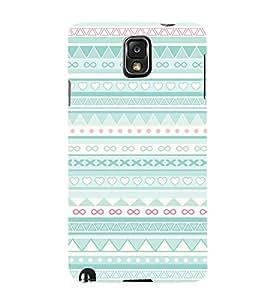 Symbol Pattern 3D Hard Polycarbonate Designer Back Case Cover for Samsung Galaxy Note 3 N9000 :: Samsung Galaxy Note 3 N9002 :: Samsung Galaxy Note 3 N9005 LTE