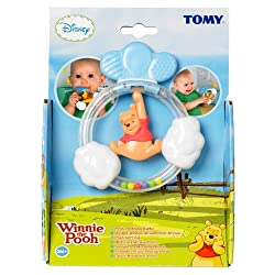 Tomy Teething Rattle Pooh/Tigger