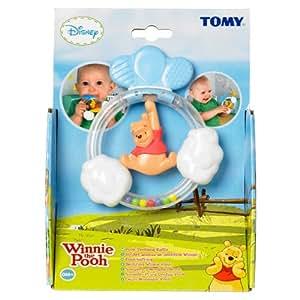 Tomy Teething Rattle Pooh/Tigger