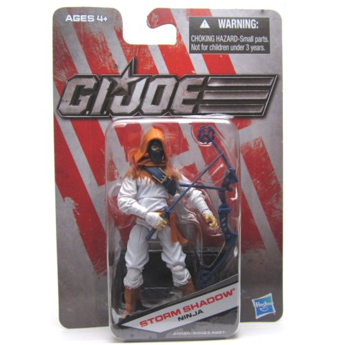 Storm Shadow White Variant GI Joe Exclusive Action Figure - 1