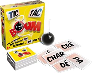 Asmodee - TTB01S - Jeu d'ambiance - Tic Tac Boum