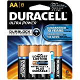 Duracell Ultra Power Aa Batteries 8 Count