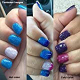 AIMEILI-Soak-Off-UV-LED-Temprature-Changement-de-Couleur-Chameleon-Vernis--Ongles-Gel-Semi-Permanent-Glitter-Purple-to-Glitter-Blue-Full-Shimmer-Diamond-TC06-10ml