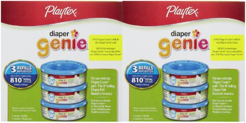 Playtex Diaper Genie Refill, 15.2 Ounce - 1