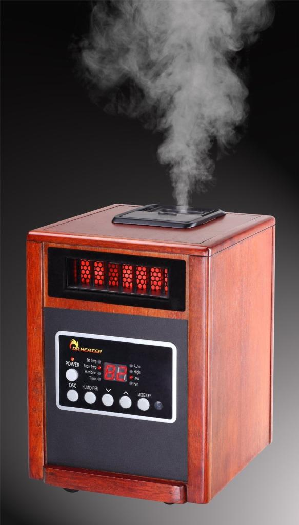 Amazon.com - Dr Infrared Heater DR998, 1500W, Advanced Dual ...