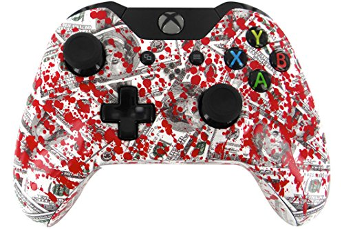"""Blood Money"" Xbox One Custom Unmodded Controller"