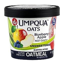 Umpqua Oats Blueberry Apple Not Guilty Super Premium Oatmeal (12 Pack)