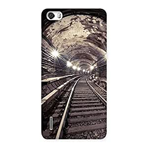Stylish Track in Tunnel Back Case Cover for Honor 6