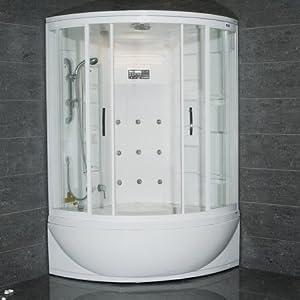 Steam Shower With Whirlpool Bathtub Corner Bathtub Shower Combo