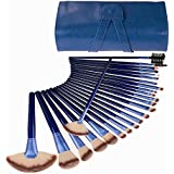 BLUETTEK Latest Professional Horse Hair Cosmetic Makeup Brushes Set Kits Ultra Soft Brushes Tools Pro Sets With...