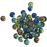 Cat's Eye Marbles - 50 in a bag + spares (against damage)
