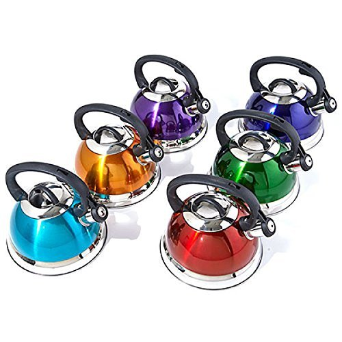 Whistling Tea Kettle in Purple (Tea Kettles compare prices)
