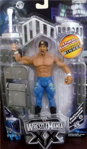 Buy Low Price Jakks Pacific CHAVO GUERRERO WWE Exclusive Wrestlemania XX Winners Figure (B004X68Z04)