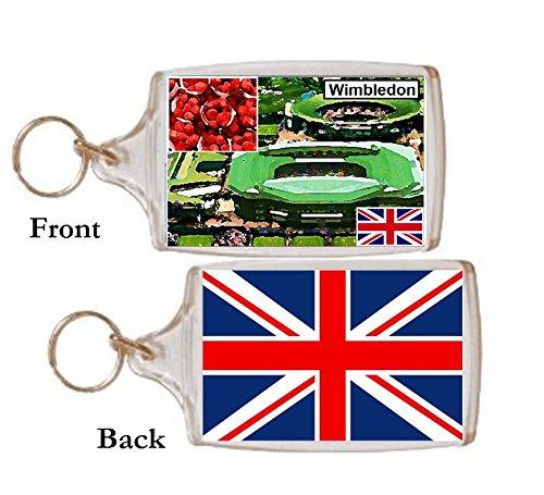 Schlüsselring Wimbledon Geschenk Tourist Souvenir