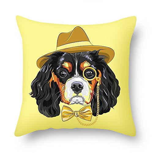 Beautfuldecor Home Decoration Fashion Dog Pillowcase 20X20 InchThrow Cushion Cover