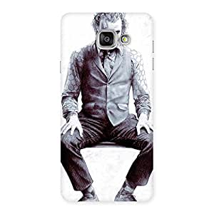 Special White Insane Multicolor Back Case Cover for Galaxy A7 2016