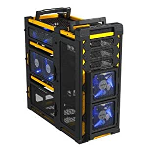 Antec Lanboy Air Yellow ATX Mid Tower Computer Modular Case
