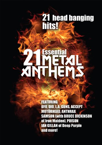Cover art for  Heavy Metal - 21 Essential Metal Anthems