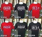 アメリカンなへビィーウェイトTシャツが揃いました☆【Coca Cola コカコーラ プリントTシャツ】3種2カラー♪アメリカン雑貨アメリカ雑貨 (CC-VT2R (レッド), M)