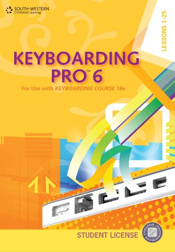 Keyboarding Pro 6, Student License (with User Guide and...