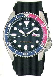[セイコーimport]SEIKO 腕時計 逆輸入 海外モデル ブラック SKX009KC メンズ