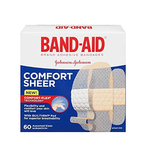 band-aid-comfort-flex-sheer-adhesive-bandages-assorted-60-each-pack-of-3-by-band-aid