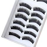 So Beauty Fashion Stylish Lady Girls Regular Long and Thick Eyelashes-20pairs