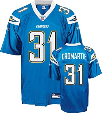 Antonio Cromartie San Diego Alternate Adult Replica Football Jersey
