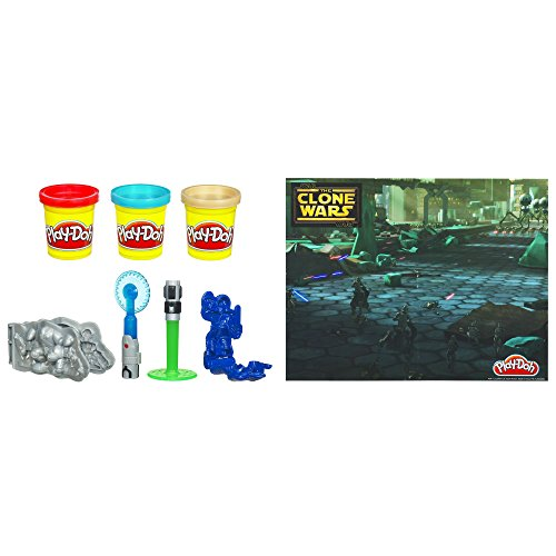 Play-Doh Star Wars the Clone Wars Set - 1