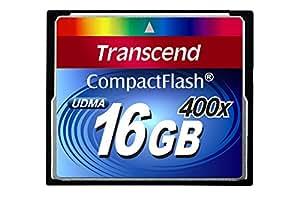 Transcend TS16GCF400 UDMA 400X Compact Flash 16384 MB