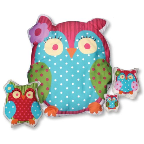 Daisy Kingdom Easy Cut and Sew Stitch 'N Stuff Kit, GiGi Owl (Cut And Sew compare prices)