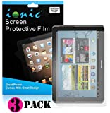 Ionic Screen Protector Film Matte (Anti-Glare) for Samsung Galaxy Note 10.1 (3-pack)[Lifetime Replacement Warranty][DOES NOT FIT 2014 EDITION MODEL]