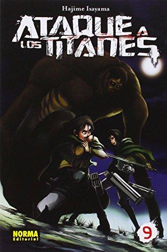 Ataque A Los Titanes 9 (Manga - Ataque A Los Titanes)