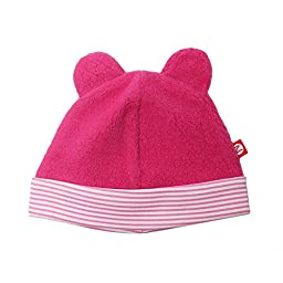 Zutano Cozie Fleece Hat - Fuchsia - 6M