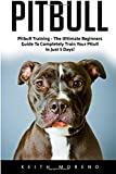 img - for Pitbull: Pitbull Training - The Ultimate Beginners Guide To Completely Train Your Pitull In Just 5 Days! (Pitbull Dog, Pitbull Breeding, How To Train Your Dog) book / textbook / text book