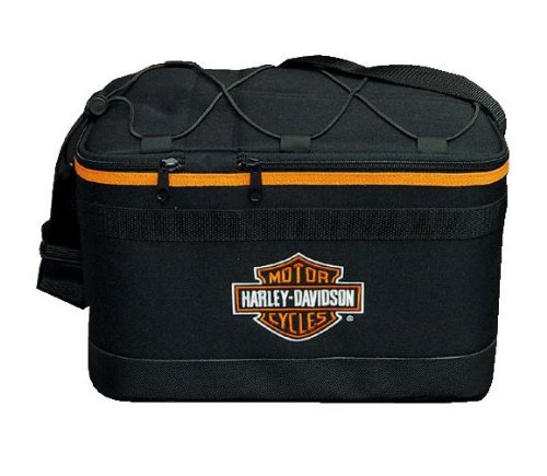 Harley-Davidson Overseas Tour Bar & Shield 12-Pack Cooler One Size Black