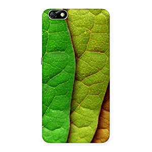 Delighted Leaf Pattern Multicolor Back Case Cover for Honor 4X